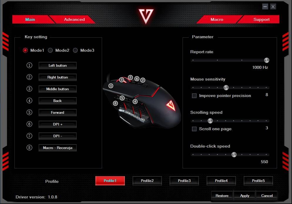 Oprogramowanie 1 MODECOM VOLCANO MC-GMX4