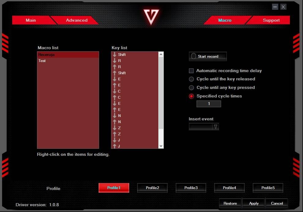 Oprogramowanie 3 MODECOM VOLCANO MC-GMX4