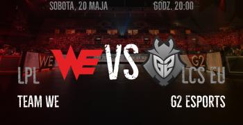 MSI 2017 - Team WE vs G2 Esports