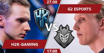 H2K vs G2 Esports