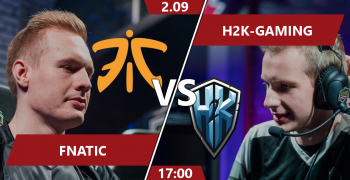 Fnatic vs H2k-Gaming