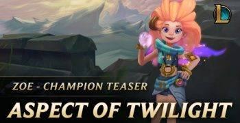 Zoe - The Aspect of Twilight