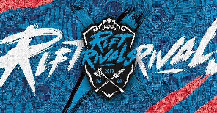 Rift Rivals 2018: NA x EU