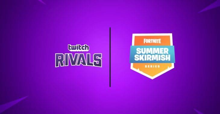Twitch Rivals Fortnite Summer Skirmish