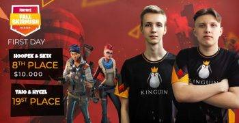 Team Kinguin Fortnite Fall Skirmish