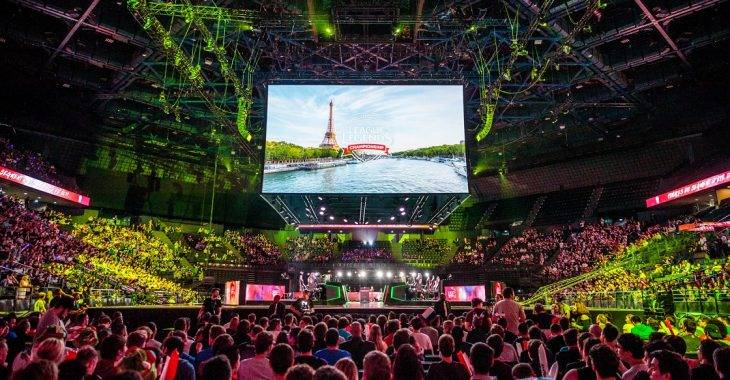 AccorHotels Arena, EU LCS 2017 Summer Finals