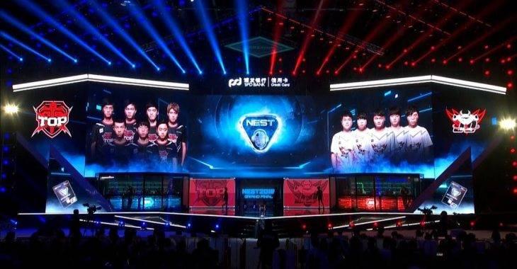 NEST 2018 - Topsports vs JD Gaming