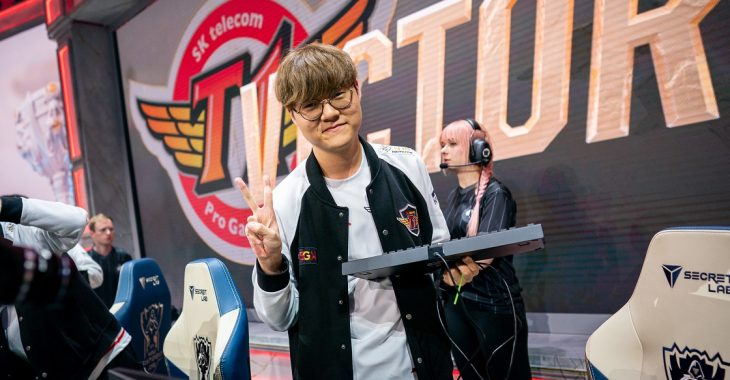 Teddy, SK Telecom T1, Worlds 2019