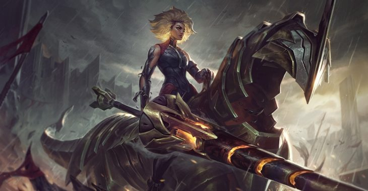 Rell, Żelazne Dziewczę – League of Legends